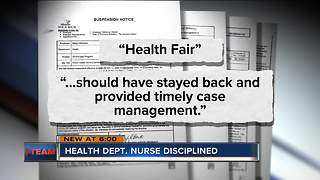 I-Team: Health Department nurse suspended over lead issues