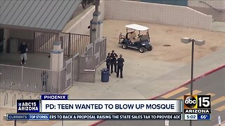 Teen in custody after threat to mosque
