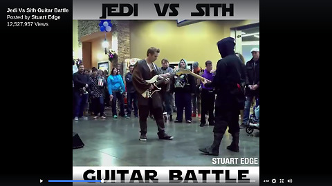 They Bump Into Each Other, Then Go On To Create The Most Epic Guitar Battle Ever