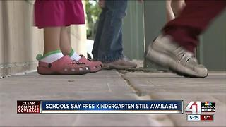 Kansas schools to offer free full-day kindergarten