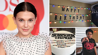 Millie Bobby Brown Sends The Sweetest Message To Fan For This HEARTBREAKING Reason - Video