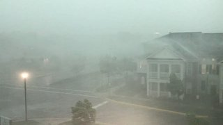 Storm Hits Sterling, Causes Power Outages Across Virginia