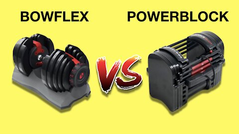 Bowflex vs Powerblock Adjustable Dumbbells Review (WHICH ONE IS BEST?)