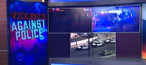 Domestic call leads to police shooting near downtown Las Vegas