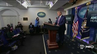 Trump announces plan for lowering drug costs