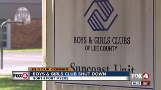 State funding cuts force closure of NFM Boys & Girls Club - Video