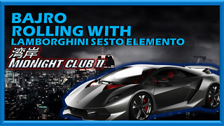 |BAJRO| - Rolling with Lambo Sesto Elemento at (MC2) - Video
