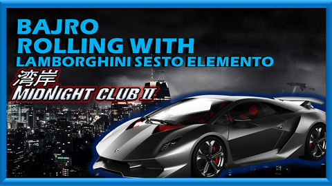 |BAJRO| - Rolling with Lambo Sesto Elemento at (MC2)
