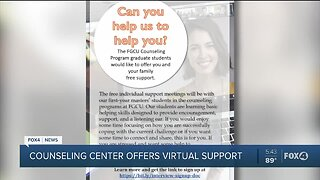 Counseling center offers virtual support
