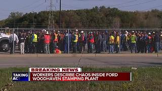 Employees scared after another worker killed himself at Ford plant in Woodhaven - Video