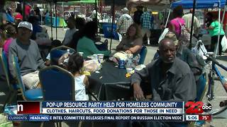Kern County Homeless Collaborative holds block party for community