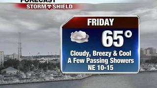 Colder Weather Arrives Friday & Friday Night 12-8 - Video