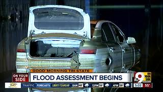 Flood assessment begins Thursday as part of long clean-up process - Video