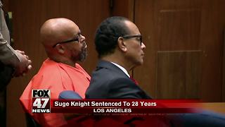 Suge Knight: Former rap mogul sentenced to 28 years in prison