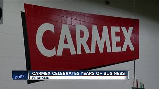Carmex celebrates years of business, calls WI home - Video