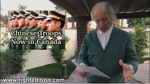 Chinese Troops In Canada - Covid Millions Give Away