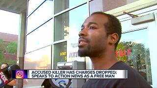 Accused murderer released for lack of evidence speaks out on the case - Video