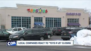 Reaction to Toys R US closing - Video