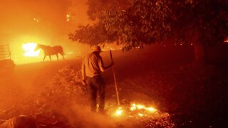 Thunderstorms Spark Hundreds More Wildfires In California