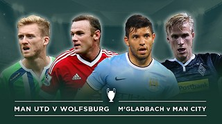 Manchester United vs. Wolfsburg & Manchester City vs. Mönchengladbach | #FDW UCL Previews - Video