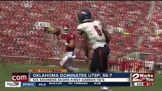 Sooners hammer UTEP, 56-7; excited for shot at Ohio State - Video
