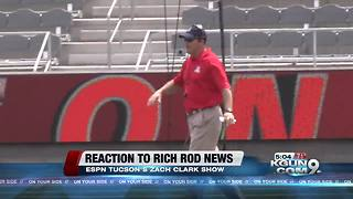 Reaction to the firing of Rich Rodriguez - Video