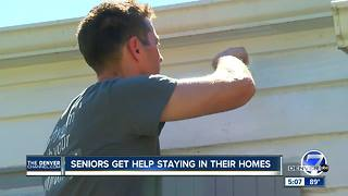 Seniors get help staying in their homes - Video