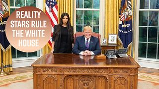 Kim Kardashian meets with Trump in the Oval Office
