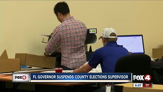 DeSantis suspends elections supervisor