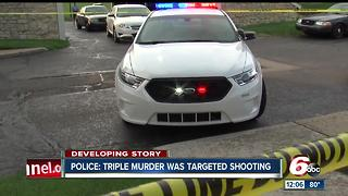 3 men killed in shooting on Indy's north side identified