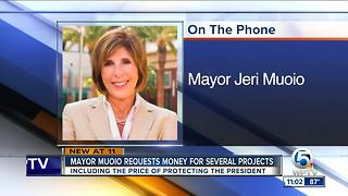 West Palm mayor in Washington, D.C., seeking funds for several projects - Video