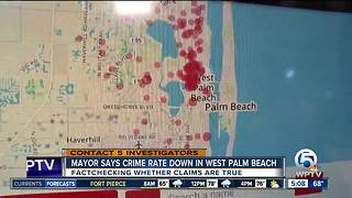 Is crime rate down in West Palm Beach? - Video