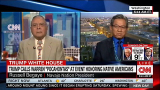 [1280x720] Navajo Nation president calls Trumps Pocahontas quip an ethnic slur - POLITICO - Video