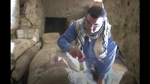 Archaeologists unearth 3000-year-old coffins in latest discovery in Egypt