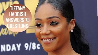 Tiffany Haddish's dream show would be in lingerie - Video