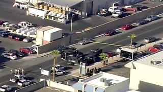 Las Vegas police confirm suspect in officer shooting dead