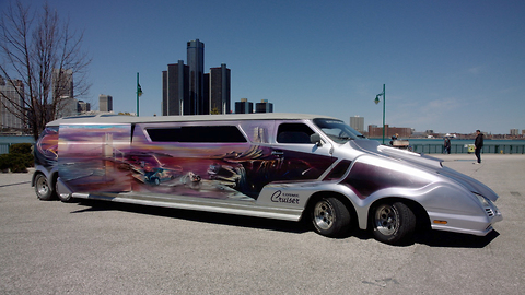 'Wildest Van In The World' is 34ft Long   RIDICULOUS RIDES