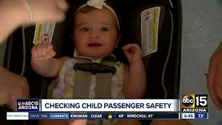 Making sure your child is buckled in a safety seat properly - Video