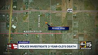 Phoenix police investigating child's death - Video