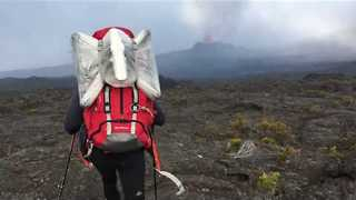 Explorers Make Pilgrimage to Piton de la Fournaise - Video
