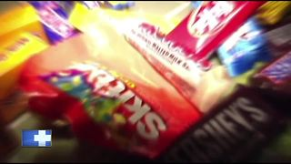 Neenah Police: Nails found in candy bars after trick-or-treating - Video