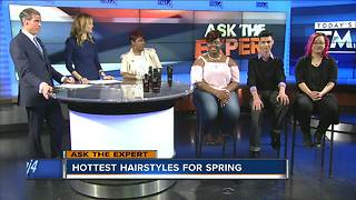 Ask the Expert: hottest spring hairstyles - Video