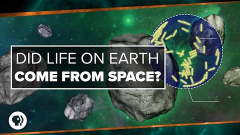 Did Life on Earth Come from Space?