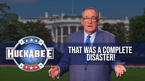That Was A COMPLETE DISASTER | Huckabee