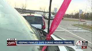 Group wants to keep families safe during holiday travel