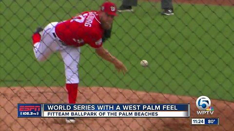 FITTEAM Ballpark of the Palm Beaches' Washington Nationals claim spot in 2019 World Series