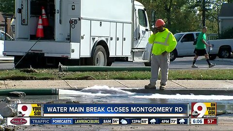 Part of Montgomery Road to close for part of the week