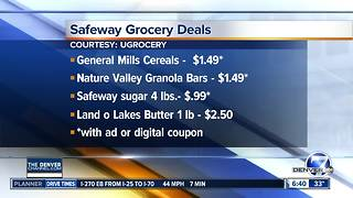 This weeks grocery deals - Video