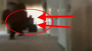 Shadow Person Caught On Camera
