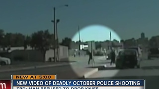 New Video Released In Deadly October Police Shooting - Video